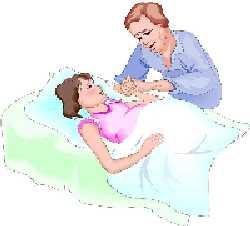 Mom in labor