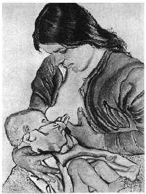 Nursing mom